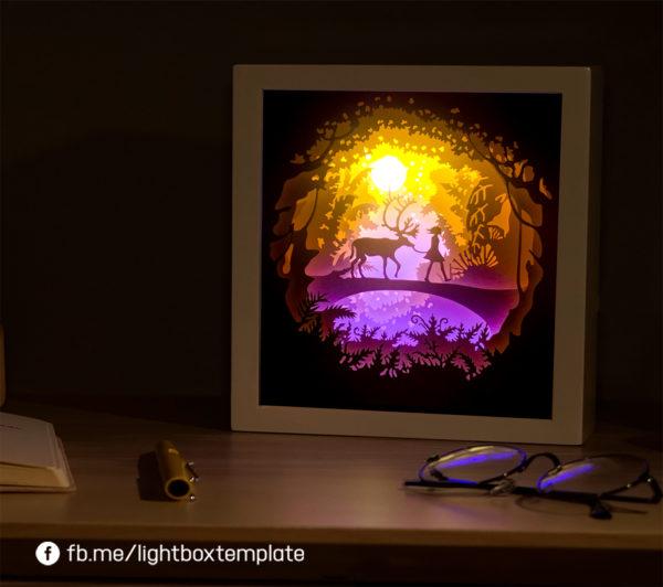 Paper cut light box 02